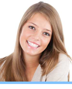 Accelerated Treatment interior photo young woman Elite Orthodontics San Diego CA