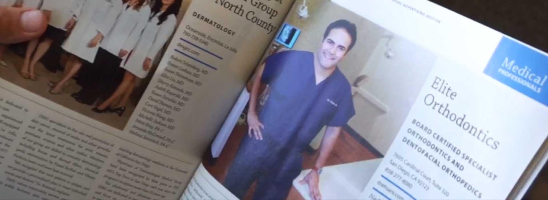 Dr Nader Ehsani Static Image 2 Elite Orthodontics San Diego CA